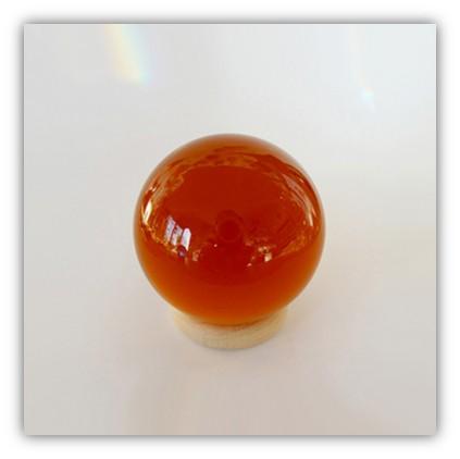 Silizium-Kugel Gold-Topas