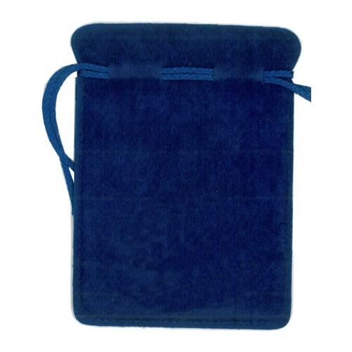 Juwel Bag large blue (Großer Schmuckbeutel BioGenesis ohne Logo)