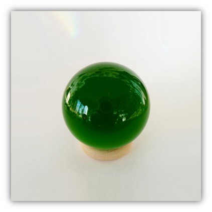 Silizium-Kugel Smaragdgrün
